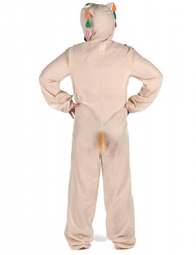 Humorvolles Lama-Kostüm für Herren weiss-bunt-2