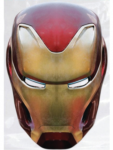 Avengers Infinity War™ Iron Man™-Pappmaske rot-gold