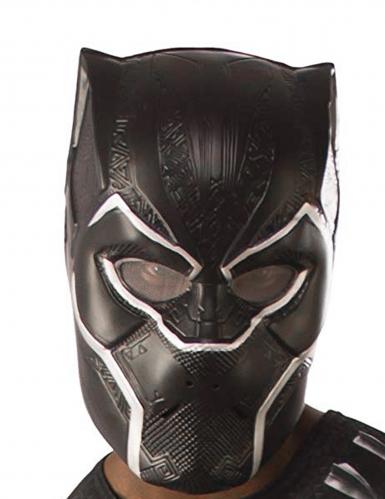 Black Panther™-Lizenzmaske für Erwachsene Marvel schwarz