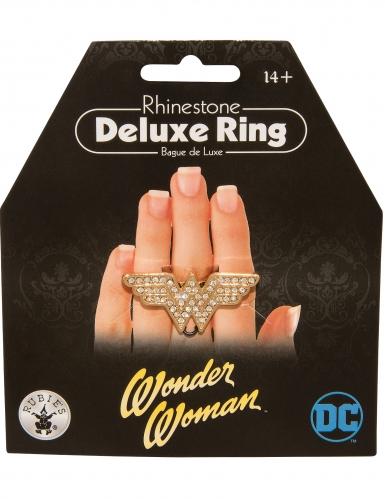 Wonder Woman™-Ring Schmuck silber-gold