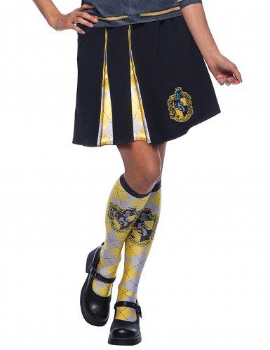 Damenrock-Hufflepuff von Harry Potter™-Lizenzartikel schwarz-weiss-gelb