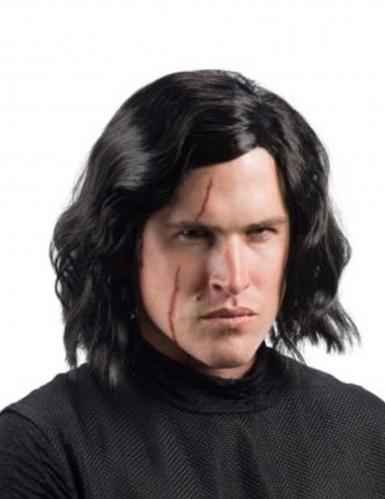 Kylo Ren™-Lizenzperücke für Erwachsene Star Wars™ schwarz