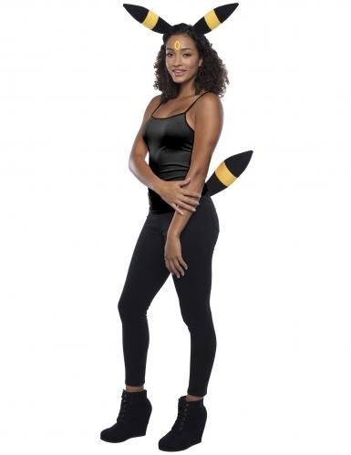 Nachtara™-Pokemon-Kostümzubehör für Damen schwarz-gelb