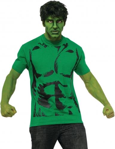 Hulk™-Kostüm-Set für Herren Lizenz grün-schwarz