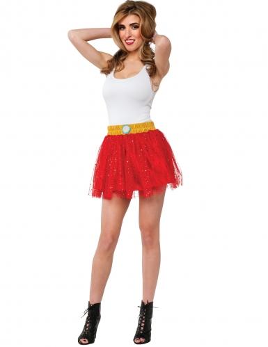 Iron Man™ Petticoat für Damen Kostümzubehör rot-gelb
