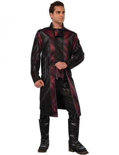 Hawkeye™-Kostüm für Herren Marvel-Lizenz schwarz-rot