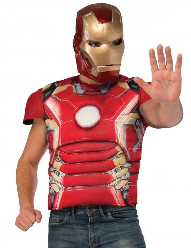 Iron Man™-Kostümset 2-teilig Tony Stark rot-gold