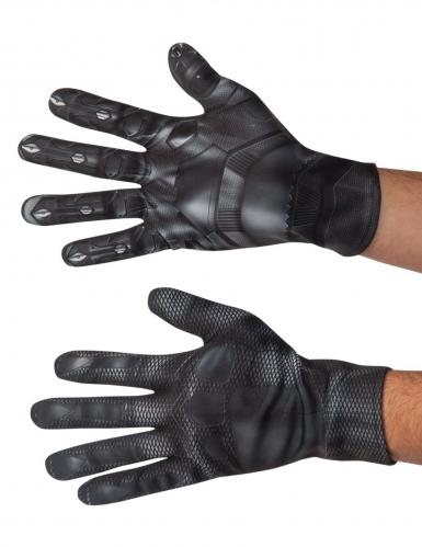 Black Panther™ Handschuhe Zubehör Lizenz schwarz