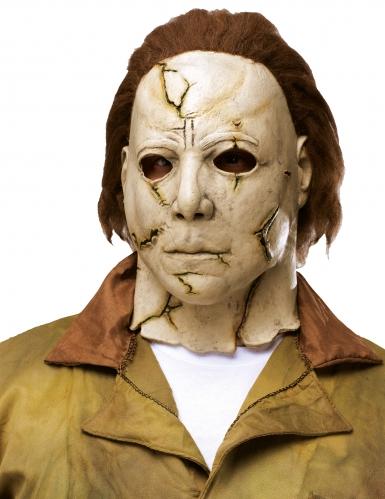 Michael Myers™-Lizenzmaske Halloween-Zubehör beige