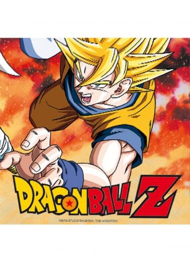 Dragon Ball Z™-Papierservietten Tischzubehör 20 Stück bunt 33x33cm