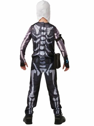 Fortnite™-Skull Trooper für Jugendliche Lizenz schwarz-weiss-2