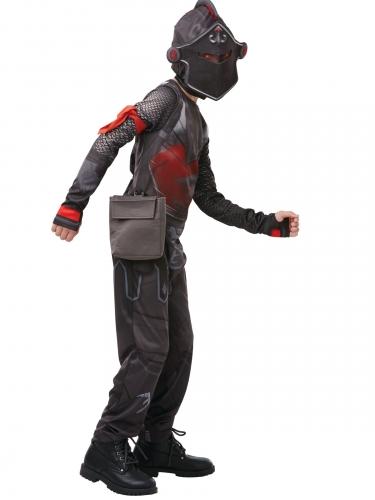 Fortnite™-Black Knight Lizenzkostüm für Jugendliche schwarz-1