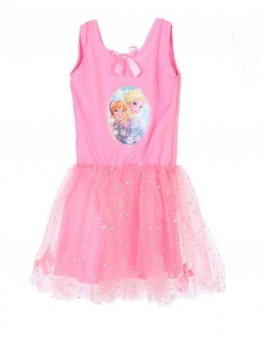 Frozen™-Kostüm für Mädchen Eisprinzessin rosa