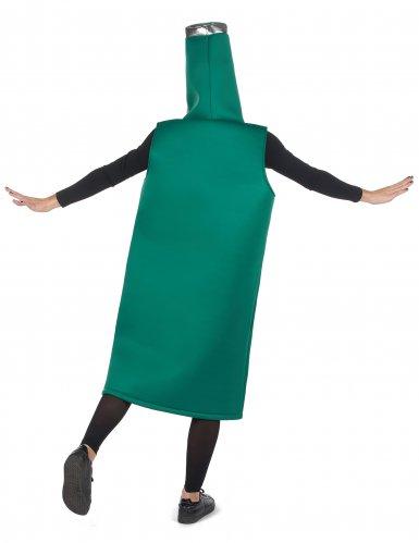 Lustiges Bier-Kostüm für Erwachsene Humor grün-weiss-schwarz-2