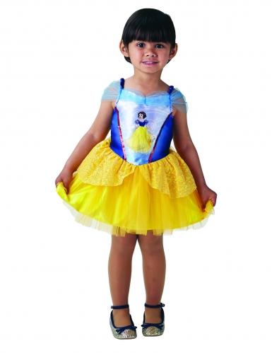 Schneewittchen™-Mädchenkostüm Disney™-Ballerina bunt-5