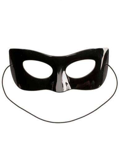 Ladybug™-Cat Noir Maske und Süßigkeiten Geschenkidee für Kinder schwarz