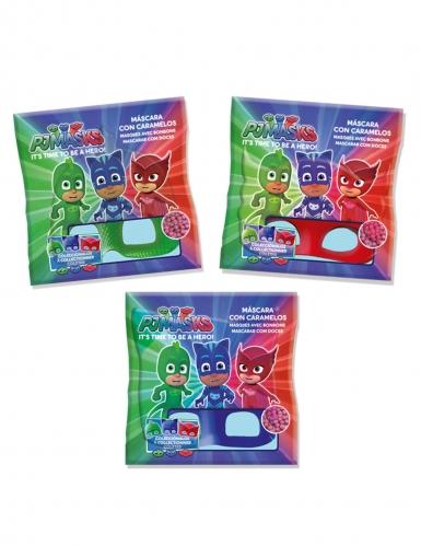 PJ Masks™-Eulette Maske und Bonbons Geschenkidee für Kinder rot-1