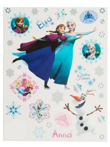 Hervorragend Disney-Eiskönigin™-Fenstersticker Anna und Elsa bunt 30x20cm SI85