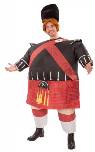 Schotten-Kostüm aufblasbar für Herren bunt