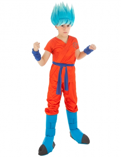 Dragonball Z™-Kinderkostüm Son Goku orange-blau
