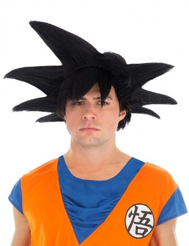 Son Goku Perücke- Dragon Ball™ Kostümzubehör schwarz