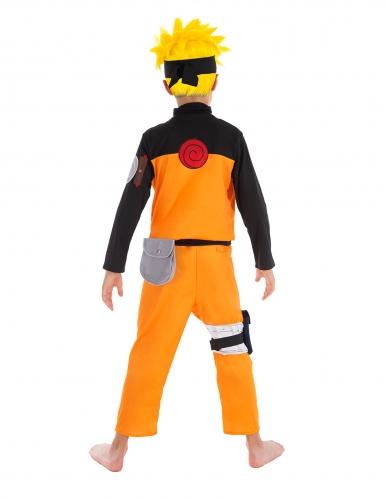 Naruto™-Kostüm für Kinder Lizenz orange-schwarz-1