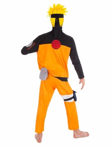 Naruto™-Anime-Erwachsenenkostüm orange-schwarz-1