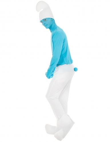 Die Schlümpfe™-Schlumpf-Kostüm für Erwachsene blau-weiss-1