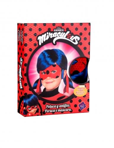 Ladybug™-Perücke mit Maske für Kinder Lizenz blau-1