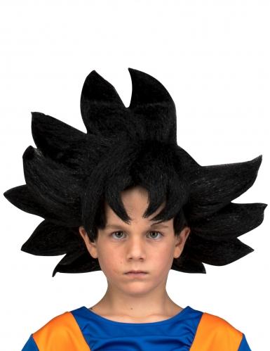 Goku™-Dragon Ball Perücke für Kinder schwarz