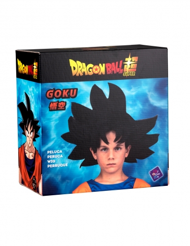 Goku™-Dragon Ball Perücke für Kinder schwarz-1