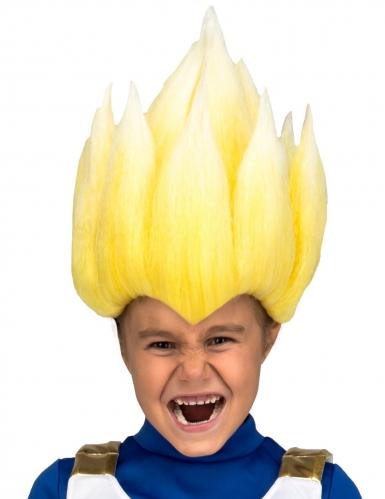 Vegeta-Perücke für Kinder Dragonball Z™ blond
