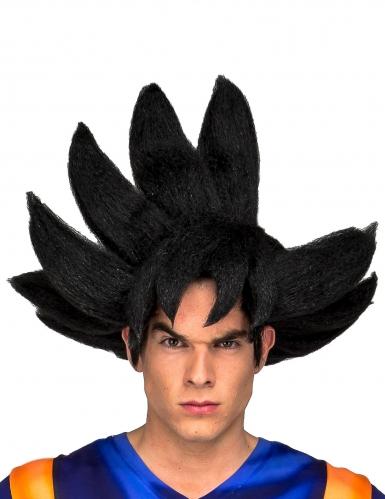 Dragon Ball Z™-Perücke Goku Lizenz-Zubehör schwarz