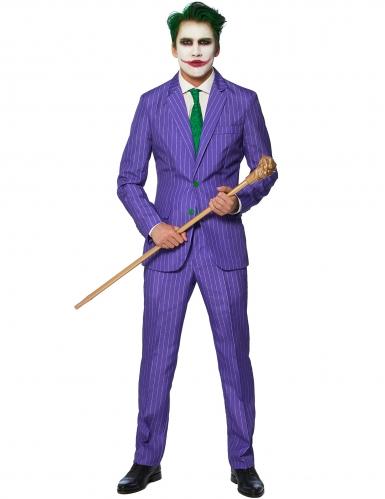 Mr. Joker™ Herrenkostüm Suitmeister Bösewicht lila-grün