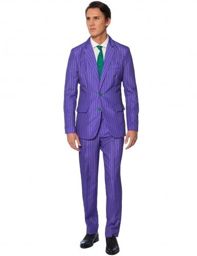 Mr. Joker™ Herrenkostüm Suitmeister Bösewicht lila-grün-1
