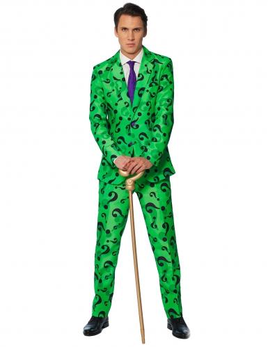 Mr. Riddler™-Suitmeister Herrenanzug grün-schwarz
