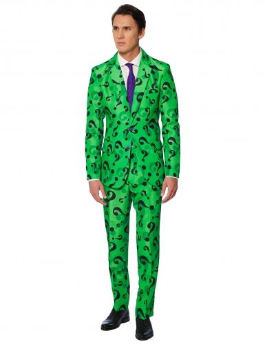 Mr. Riddler™-Suitmeister Herrenanzug grün-schwarz-1