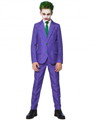Mr joker suitmeister kost m f r kinder lila gr n schwarz for Lila und grun kombinieren
