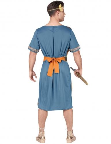 Römischer-Krieger Herrenkostüm für Karneval blau-orange-goldfarben-3