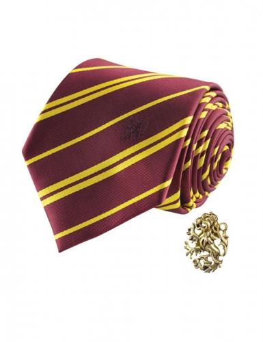 Harry Potter™-Gryffindor-Krawatte Kostüm-Accessoire rot-gelb