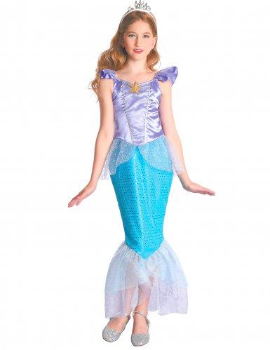 Meerjungfrauen-Kostüm für Mädchen Prinzessin blau-violett