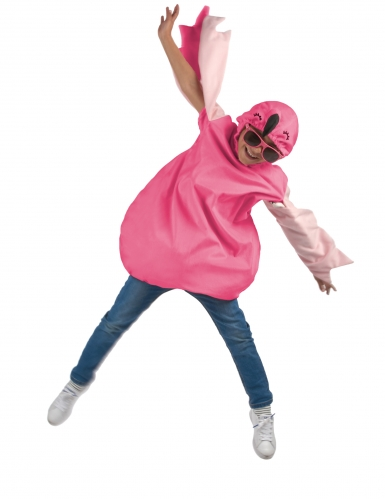Flamingokostüm für Kinder Tunika pink-1