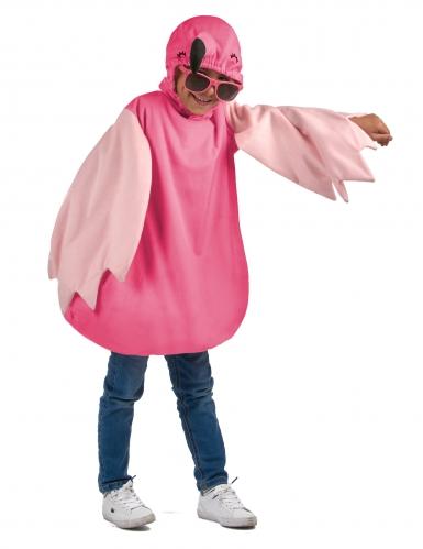Flamingokostüm für Kinder Tunika pink-2