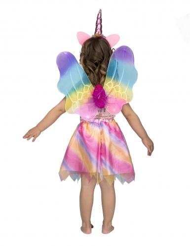 Hübsches Einhorn-Kostüm-Set für Mädchen Fasching bunt-2