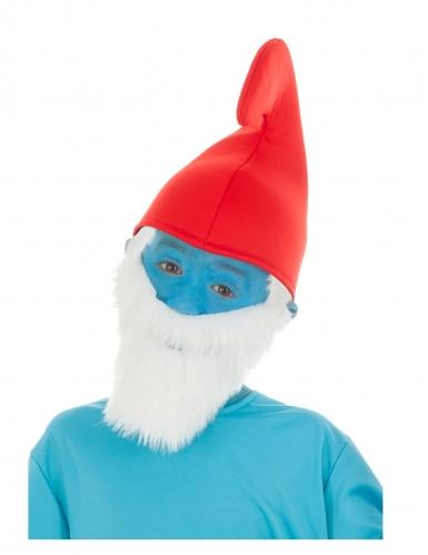 Die Schlümpfe™-Papa Schlumpf Mütze für Kinder rot