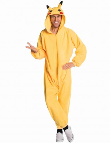 Pikachu™-Overall Pokemon-Kostüm für Erwachsene gelb