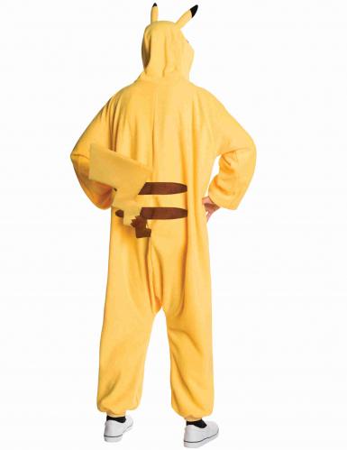 Pikachu™-Overall Pokemon-Kostüm für Erwachsene gelb-1