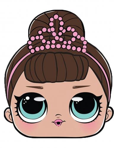 LOL Surprise™-Maske Fancy für Mädchen bunt