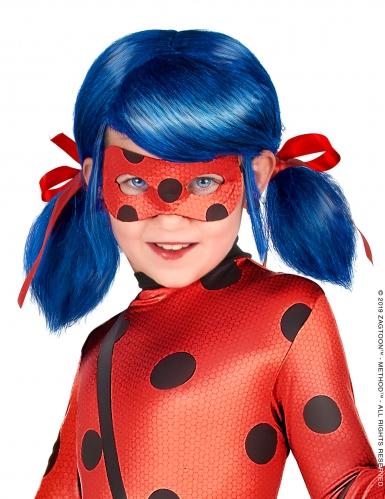 Ladybug™-Perücke für Kinder Miraculous™ Kostümzubehör blau-rot