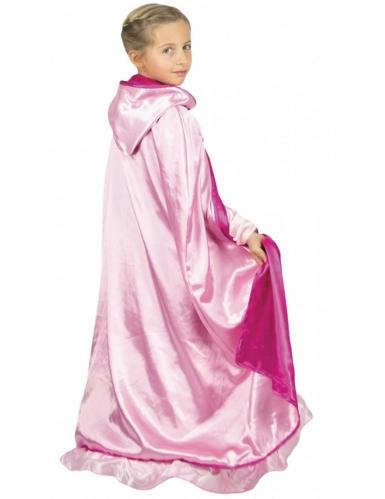 Wende-Umhang für Mädchen Prinzessin Kostümzubehör rosa
